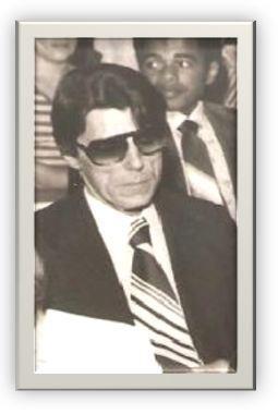 """Dr. Sérgio Castro Pontes, Delegado de Polícia, o lendário """"Cavaleiro Negro""""! Um dos ícones da saudosa época da chamada """"polícia romântica""""!"""
