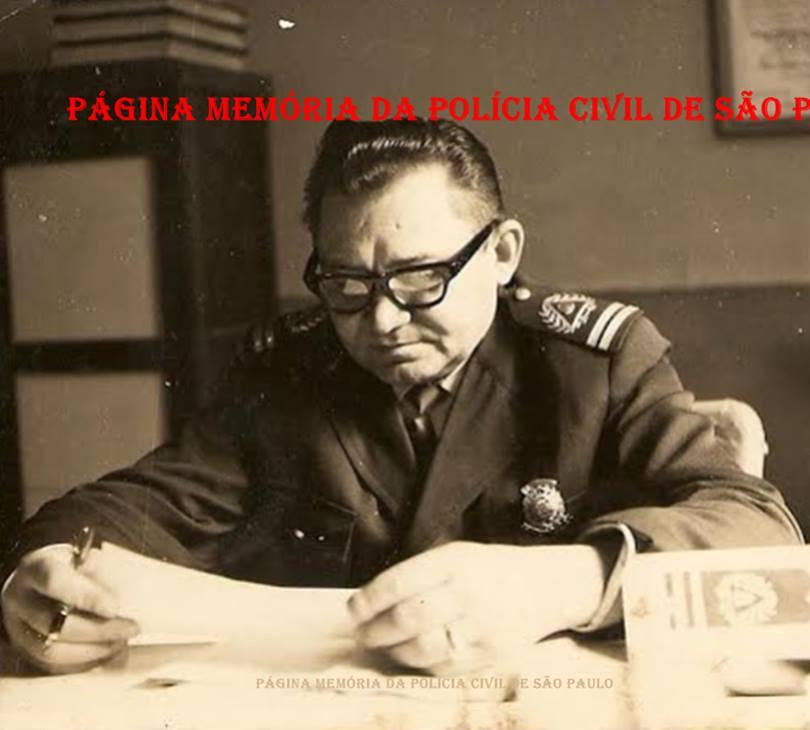Primeiro Inspetor da extinta Guarda Civil da Polícia do Estado de São Paulo, Osmar Vieira Rodrigues, na década de 60. (Acervo do filho Dahilton Rodrigues).
