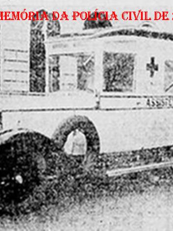 Assistência Policial (Ambulância), na década de 20.