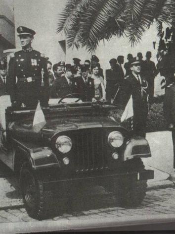 Viatura Jeep do Comando da extinta Guarda Civil do Estado de São Paulo, década de 60.