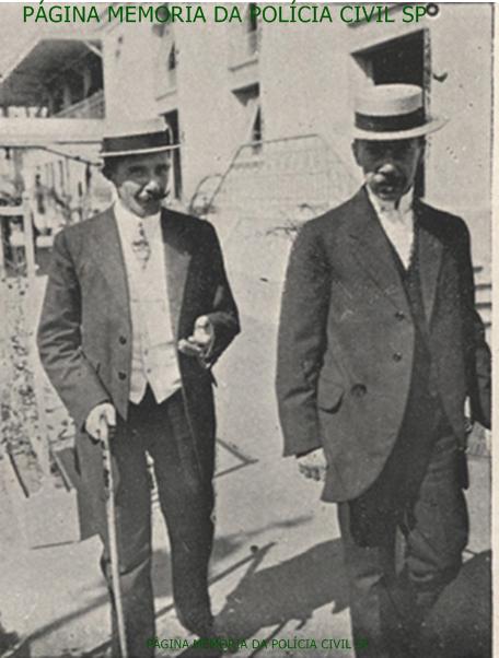 À esquerda Sub Delegado Raul, da região da Consolação, em 1.910.