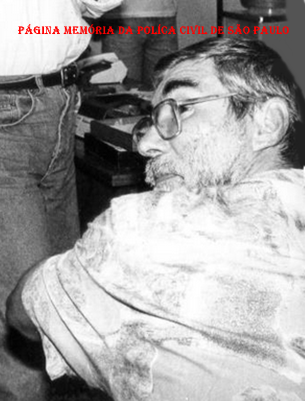 """Investigador da Delegacia de Estelionato- DIG- DEIC João de Souza """"Joãozinho Mongoba, in memoriam"""", na década de 80."""