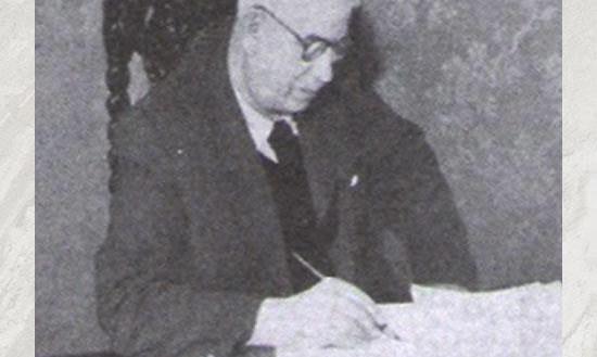 O primeiro Delegado Geral de Polícia FRANKLIN DE TOLEDO PIZA, em 1.916.