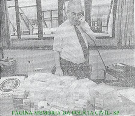 Delegado de Polícia Camassa, em setembro de 1.997. (enviado por Cristiano SPFC).