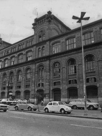 Prédio do antigo DOPS, na década de 80.