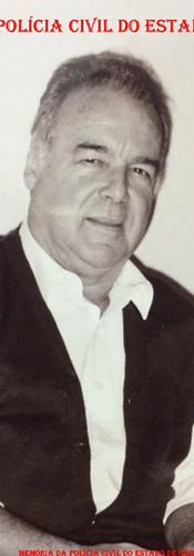 """Delegado de Polícia Arcy de Castro Oliveira Vicente """"in memoriam"""". (Acervo da filha Isabela Silva Vicente)."""