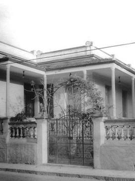 Casa do ex- Prefeito de Mogi das Cruzes e Delegado Francisco de Souza Franco, na Rua José Bonifácio, em 1.930.
