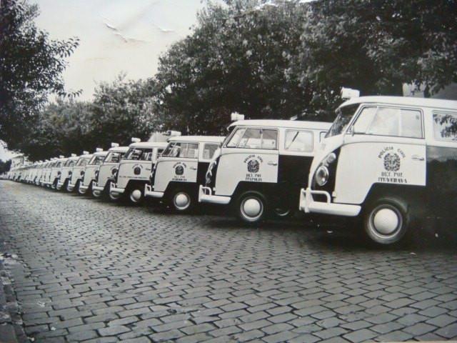 Viaturas VW- Kombi sendo distribuídas para as delegacias. (enviado pelo Policial Civil Mario Eduardo, da Seccional de São Bernardo do Campo).