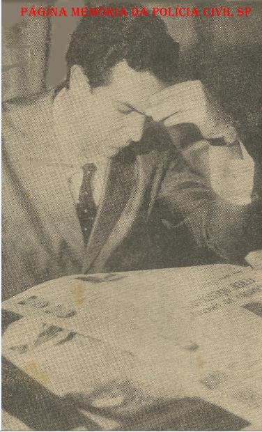 Delegado de Polícia Wilson Richetti, na década de 70.