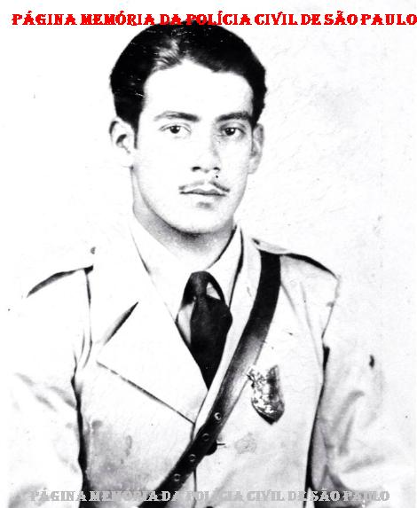 Integrante da extinta Guarda Civil da Polícia do Estado de São Paulo, Nelson Xavier de Brito, em 1.935. (Tio do Investigador Jose Xavier De Brito Filho).