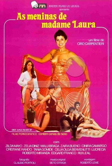 """Filme """"As Meninas de Madame Laura"""", drama com enredo referindo-se a lendária Boate """"La Licorne"""" de propriedade de Laura Marques e Ercílio Paiva, estabelecida à Rua Major Sertório.  Foi a mais glamourosa boate do Brasil e uma das mais famosas do mundo. Nasceu em 1965 e fechou em 1991. Com o charme de suas mulheres encantaram-se personalidades como o ex-secretário de Estado americano Henry Kissinger, o então presidente do Chile Eduardo Frei, o piloto Niki Lauda, o cantor Julio Iglesias e uma comitiva da ex-primeira-ministra Indira Gandhi. Filme dirigido por Ciro Carpentieri Filho, no ano de 1.981. Elenco: Bentinho, Ursula Bezerra, Malu Braga, Zaira Bueno, Cinira Camargo, Osmino Campos, Zélia Diniz, Edgard Franco, Dulce Garcia."""