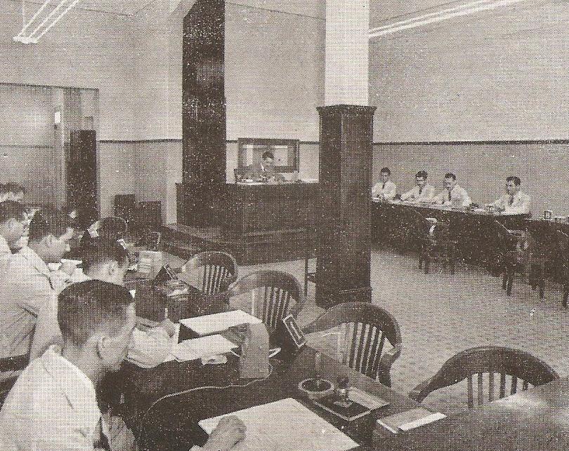 Setor de Identificação da Polícia (1945).