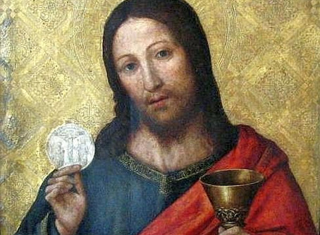 The Most Holy Body & Blood of Christ † Fr. Mike's Musings †