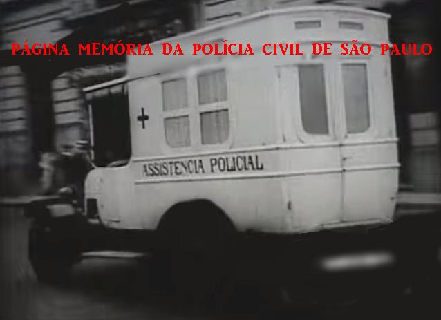 Viatura Assistência Policial, na década de 20.