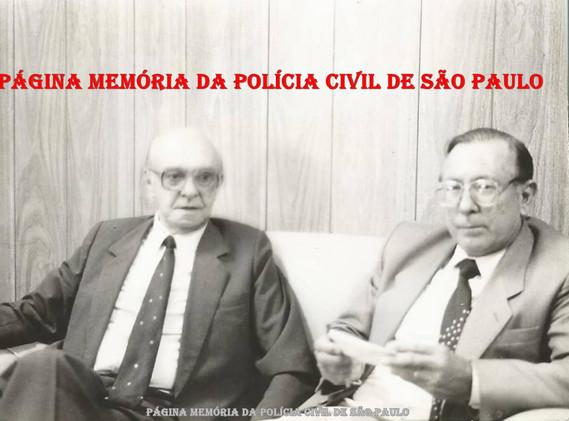 Delegacia Regional de Jundiaí, no início da década de 90. Delegados Amadeu Campos e Antonio Carlos Gonçalves.