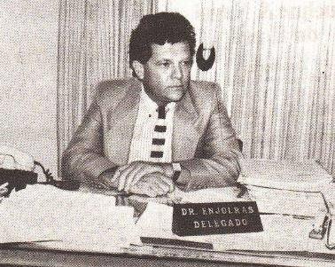 Delegado de Polícia Titular do 35° DP, Enjolras Rello Araujo, em 1.987.