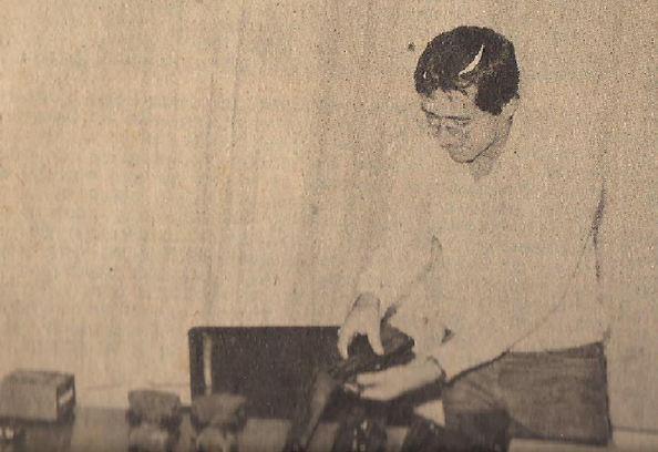 """Delegado de Polícia Luis Carlos dos Santos, na época Investigador, conhecido como """"China"""". A foto na metade da década de 80, era chefe da Apolo 90 da Delegacia de Roubo a Bancos do DEIC. Um policial experiente e competente, que fez história na DISCCPAT do DEIC."""