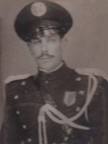 Integrante da extinta Guarda Civil do Estado de São Paulo, na década de 40.