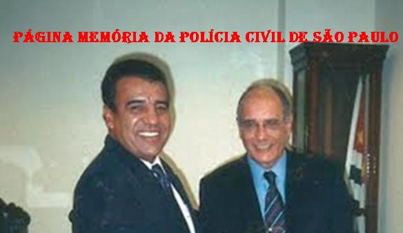 Dois ícones da história da antiga Divisão de Homicídios do DEIC: Investigador Osvaldinho Santos e Delegado de Polícia Marco Antônio Desgualdo.