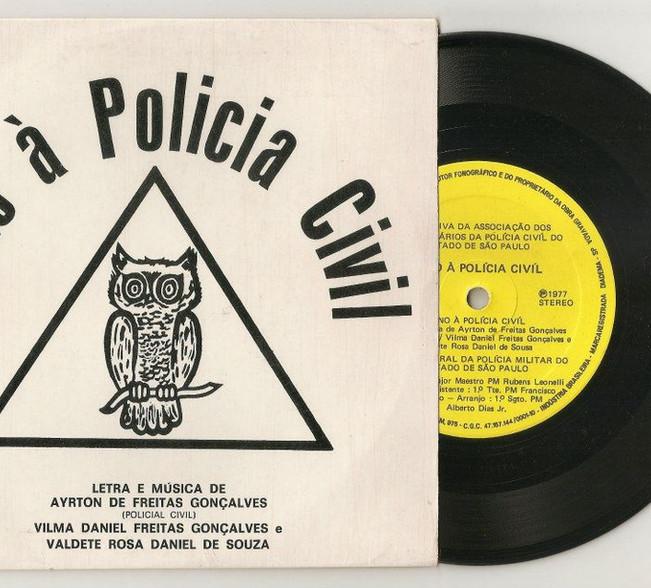 Hino à Polícia Civil.