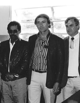 Vereadores da cidade de Cândido Motta com Delegados de Polícia da região, em junho de 1.988.