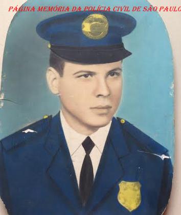 Integrante da extinta Guarda Civil do Estado de São Paulo, Elezir Diano de Abreu, em 1.965. ( Acervo do filho Agente de Telecomunicações Bruno Santos).