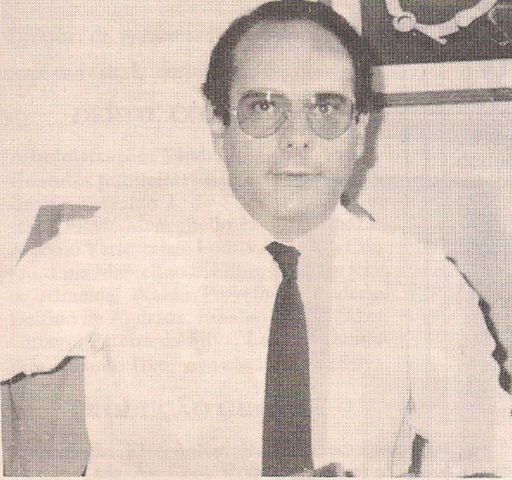 Delegado Marco Antônio Desgualdo, da antiga Divisão de Homicídios do DEIC, na década de 80.