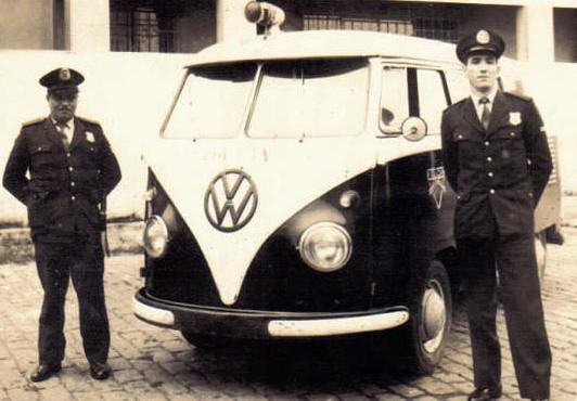 Viatura da Guarda Civil, anos 60.