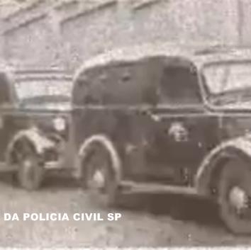 Viatura da extinta Guarda Civil do Estado de São Paulo, década de 40.