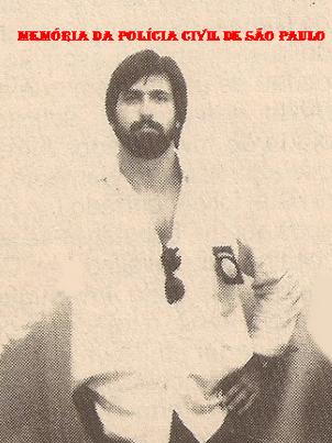 Investigador da antiga Divisão de Entorpecentes do DEIC, Mássimo Palazzolo (hoje Juiz Federal), na década de 80.