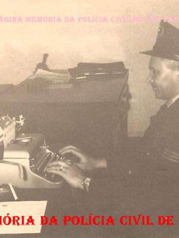 Guarda de Primeira Classe da extinta Guarda Civil da Polícia do Estado de São Paulo, Osmar Vieira Rodrigues, na década de 60. (Acervo do filho Dahilton Rodrigues).