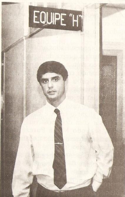 Delegado. Domingos Paulo Neto (DHPP - anos 80)