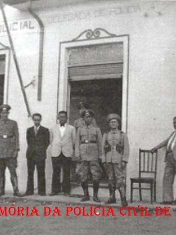 Posto Policial e Delegacia de Polícia do Município de Cerqueira Cesar, em 1942.