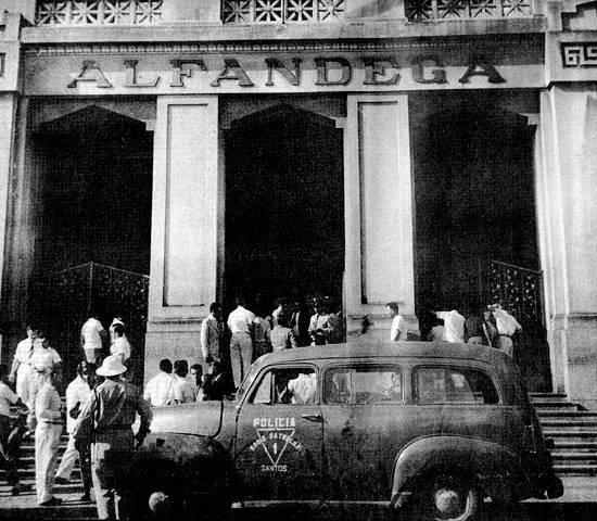 VIATURA DA RÁDIO PATRULHA DE SANTOS, DÉCADA DE 40 e 50.