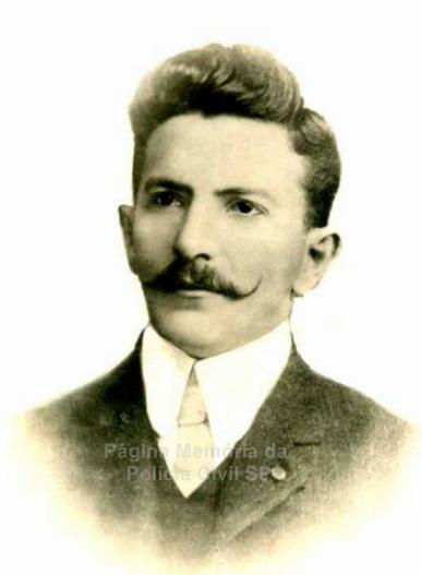 Delegado de Polícia Antonio de Godoi Moreira e Costa, um dos idealizadores da criação da Polícia Civil de carreira, em 1.905.
