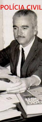 Investigador de Polícia Synésio Chavasco Filho, Chefe do DOPS, no início da década de 70. Acervo do advogado Dermeval Gomes de Campos.