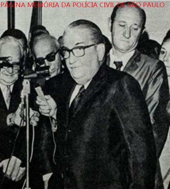 Delegado de Policia Paulo Marcondes Pestana ocupou o cargo de Secretário de Estado da Cultura, Esportes e Turismo, no Governo de Abreu Sodré, tomando posse em junho de 1.970.