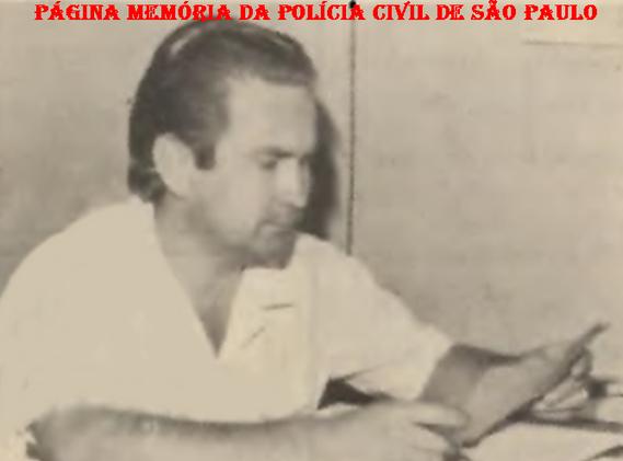 Chefe dos Escrivães do Município de Limeira José Magossi, em 1.971.