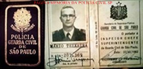 Carteira Funcional da extinta Guarda Civil do Estado de São Paulo, expedida em 1.962. (enviado pelo GCM Leandro Grabe).