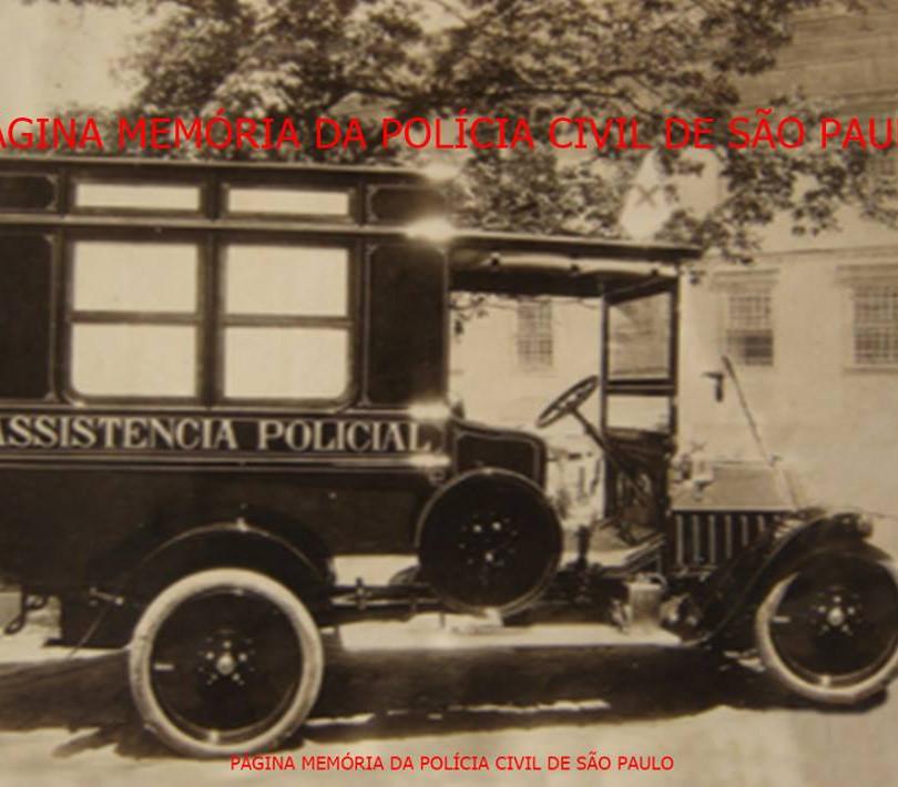 Viatura Assistência Policial, inicio seculo XX.