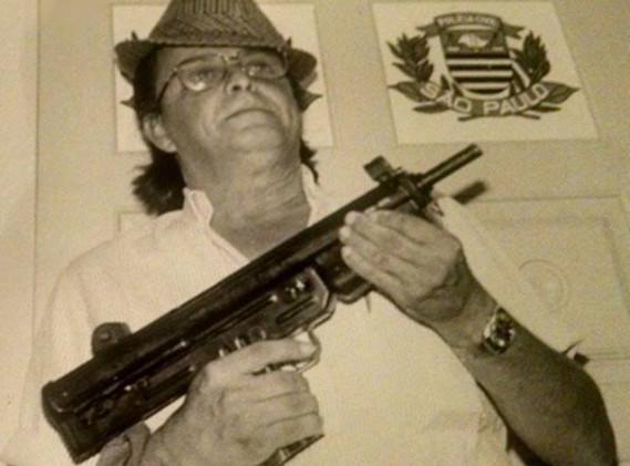 """O Saudoso Investigador de Polícia Mário Tobias de Aguiar """"Marinho Detefon"""", da Seccional de Jundiaí, em 1.986."""