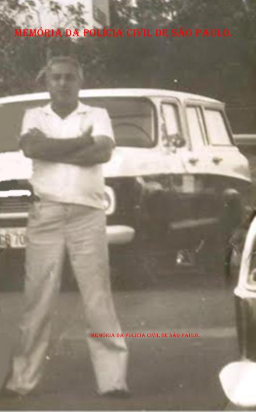 """Um ícone da Polícia Civil, o Investigador de Polícia Geraldo """"Jacarei""""."""