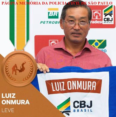 Investigador de Polícia Luiz Onmura, primeiro judoca nascido no Brasil a conquistar uma medalha olímpica, levou o bronze na categoria leve nos Jogos Olímpicos de Los Angeles, em 1984.