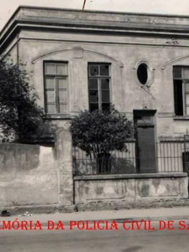 Antiga Cadeia Pública de Bragança Paulista, até a década de 60.
