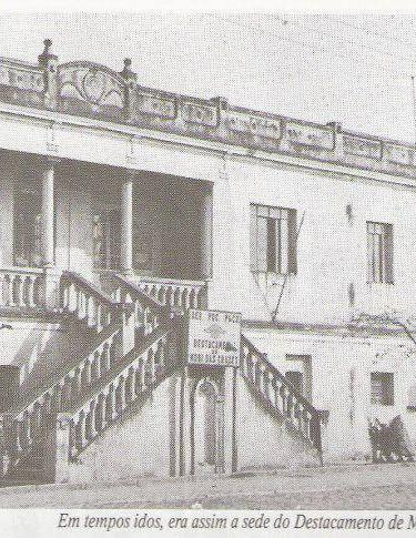 Base da extinta Policia Rodoviária na SP 066 - Rodovia São Paulo - Rio de Janeiro, Km 44, no bairro de Jundiapeba, caminho para Mogi das Cruzes, em 1951.