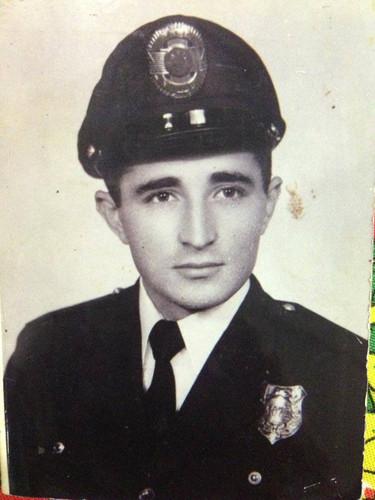 Guarda Civil Gilberto Xavier da Cunha, na década de 60. (acervo de Angela Mello).