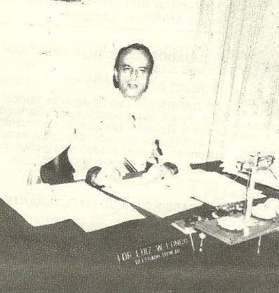 O Saudoso Delegado Luiz Walter Longo, Delegado Titular da Divisão de Entorpecentes do Deic (anos 80).