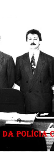 Inauguração da DIG da Seccional de Assis/SP, em 1.993. À partir da esquerda, Diretor do DERIN Delegado João Paulo Braga Brown, (?), Secretário de Segurança Pública Michel Themer, Oscar Gozi ex- Prefeito de Tarumã/SP, Delegado Geral de Polícia Álvaro Franco Pinto Luz e Delegado Seccional de Assis Valdemar Guadanhim.