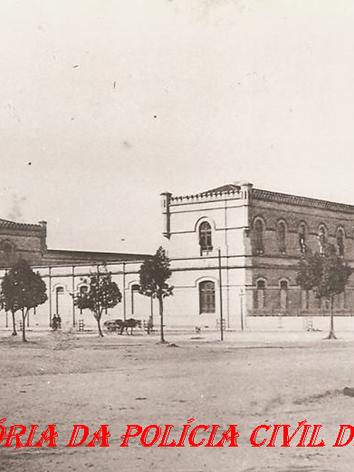 Palácio do Corpo Policial Permanente, no final do século XlX.