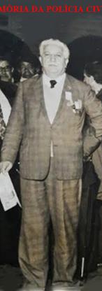 Chefe dos Investigadores do DI- Departamento de Investigações, José Cristófaro, em meados da década de 60.